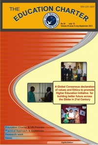 Eighth Edition of the Magazine Volume III Issue II July -September 2013