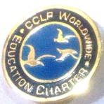 Label Pin of CCLP Worldwide
