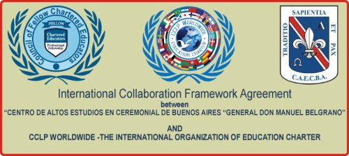 Social –Cultural and academic co-operation between CCLP Worldwide and CENTRO DE ALTOS ESTUDIOS EN CEREMONIAL DE BUENOS AIRES