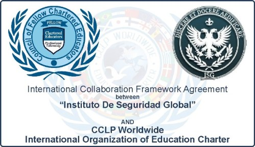 OCIAL CULTURAL AND ACADEMIC CO-OPERTAION AGREEMENT BETWEEN CCLP WORLDWIDE AND INSTITUTO DE SEGURIDAD GLOBAL