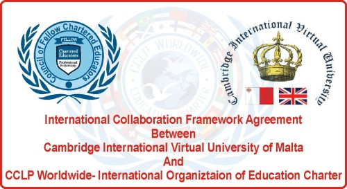 SOCIAL –CULTURAL AND ACADEMIC CO-OPERATION BETWEEN CCLP WORLDWIDE AND Cambridge International Virtual University of Malta
